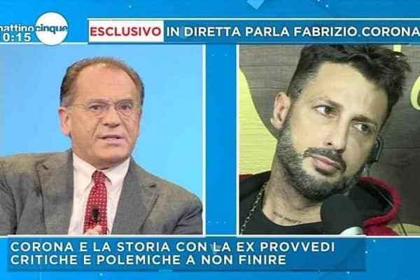Fabrizio Corona vs Cecchi Paone:
