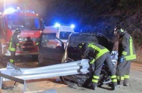 incidente morto guardrail