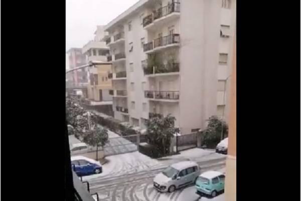 neve scuole chiuse