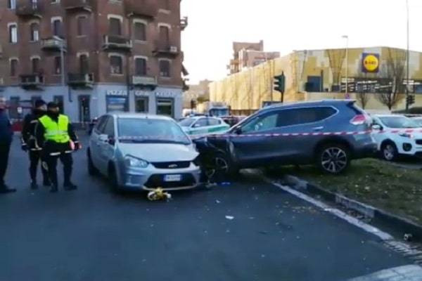 incidente mortale torino