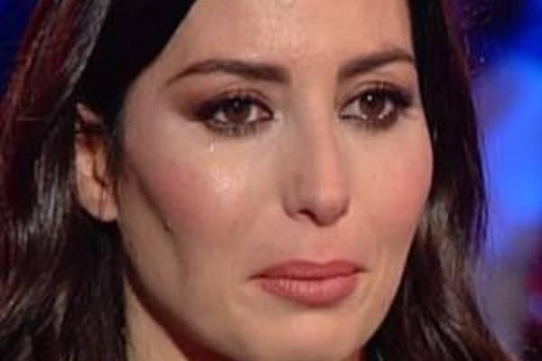 Elisabetta Gregoraci lacrime
