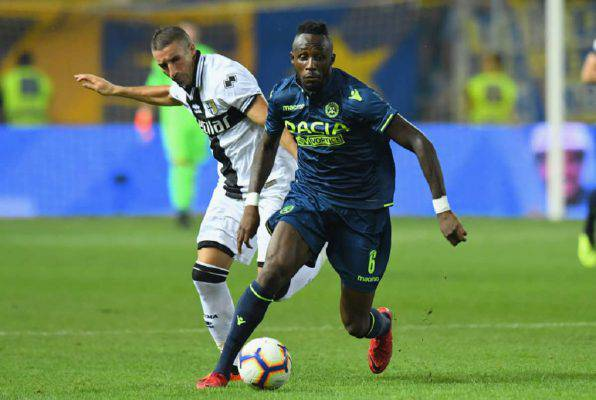 Udinese Parma streaming