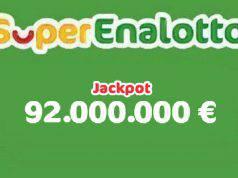 SuperEnalotto Jackpot 17 gennaio