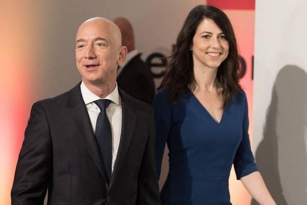 Jeff Bezos divorzio