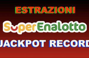 Jackpot SuperEnalotto VIDEO
