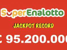 estrazioni superenalotto lotto oggi jackpot record