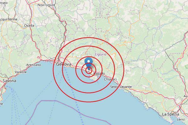 Terremoto Recco