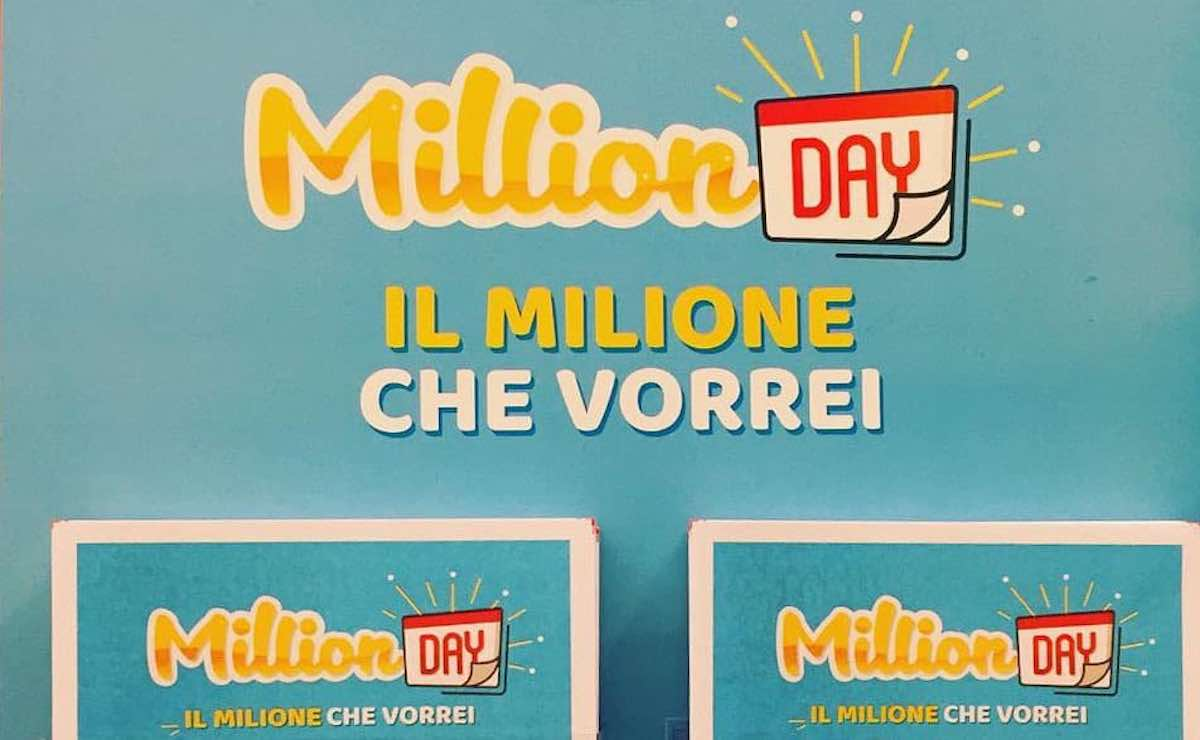 Estrazione Million Day oggi
