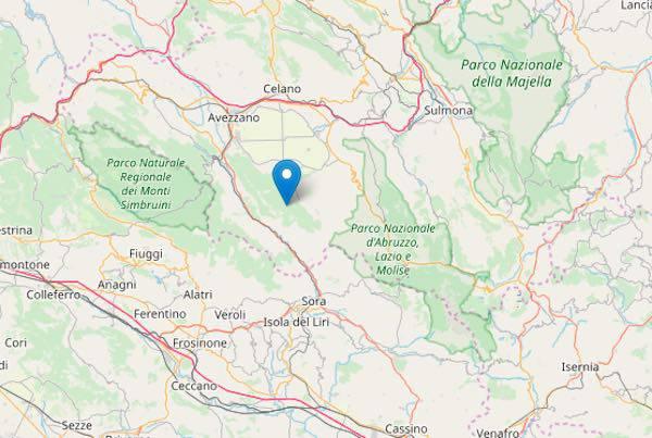Terremoto in provincia di L'Aquila. Scossa di 4.2 avvertita fino a Roma