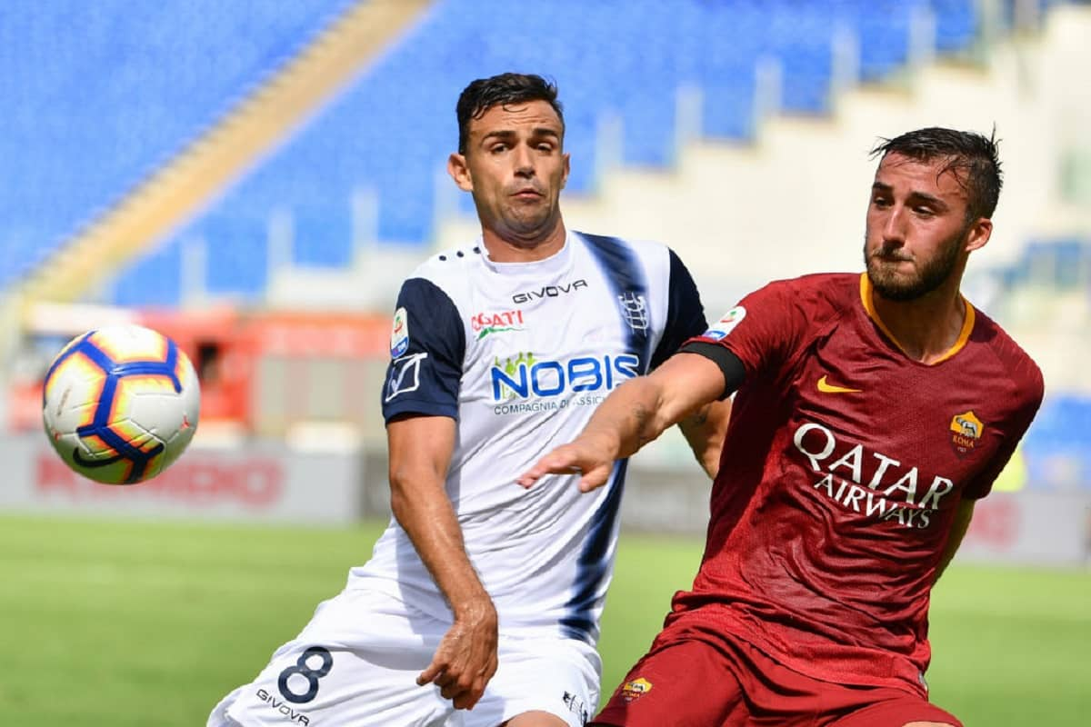 chievo roma streaming tv