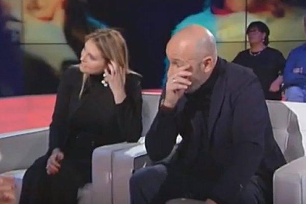 Maurizio Battista lacrime