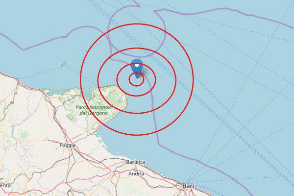Terremoto Vieste