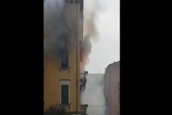 venezia incendio