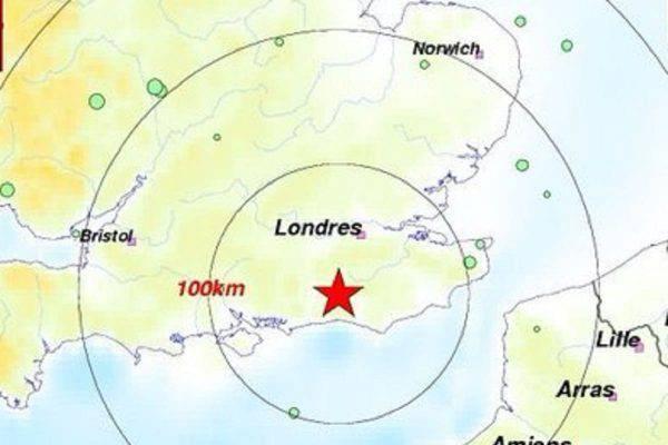 terremoto londra