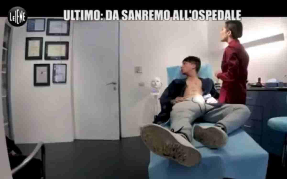 Ultimo in ospedale