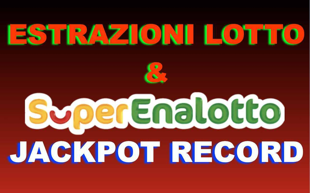 estrazioni del lotto superenalotto febbraio 2019
