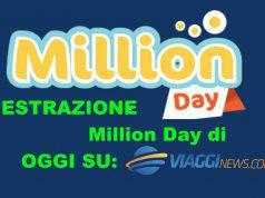 Estrazione Million Day 1 ottobre 2020: diretta oggi numeri