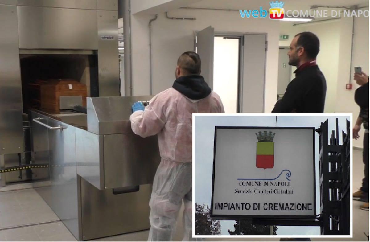 Forno crematorio Napoli