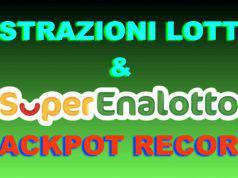 SuperEnalotto, Lotto Simbolotto 10eLotto estrazione oggi