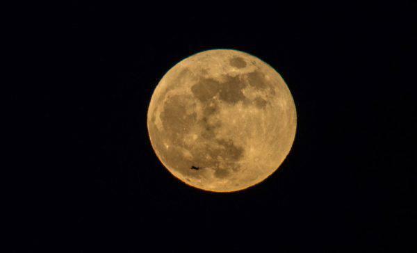 cielo febbraio super luna