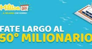 Million Day diretta