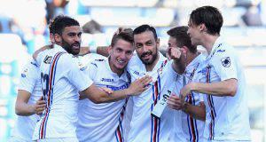 Sassuolo Sampdoria tabellino