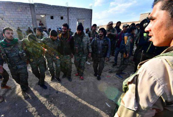 Siria sconfitto isis