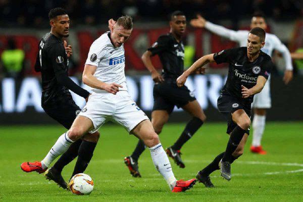 Inter Eintracht Francoforte diretta