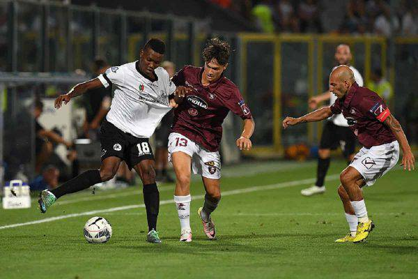 spezia cittadella streaming