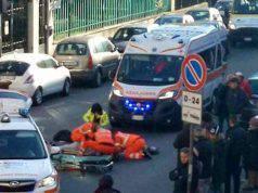 incidente auto travolge famiglia