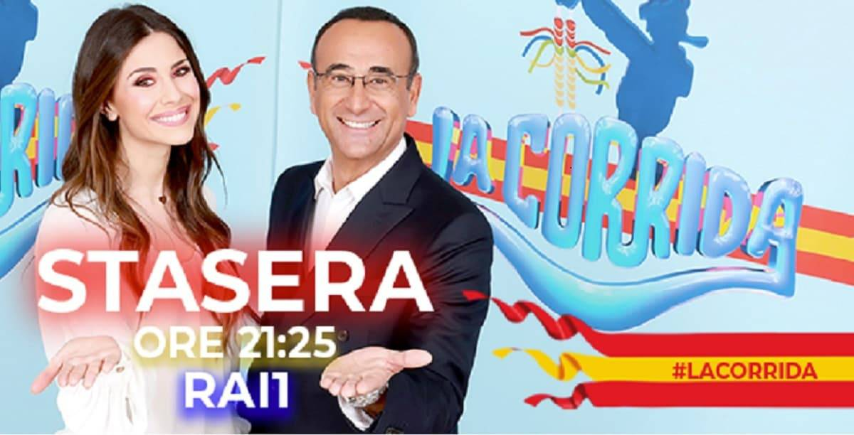 Stasera in Tv venerdì 22 marzo: La Corrida su Rai 1