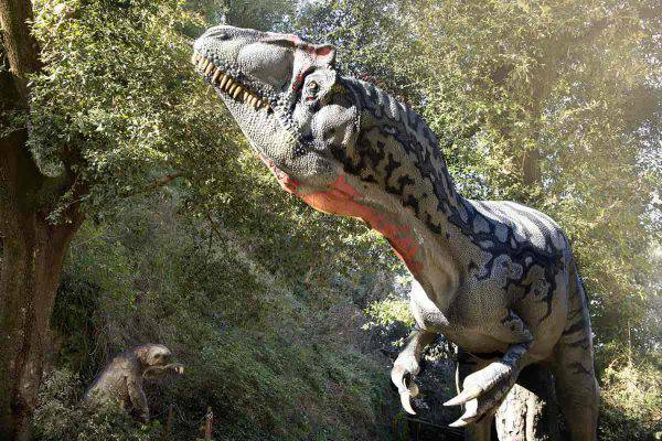 dinosauri oasi wwf fregene