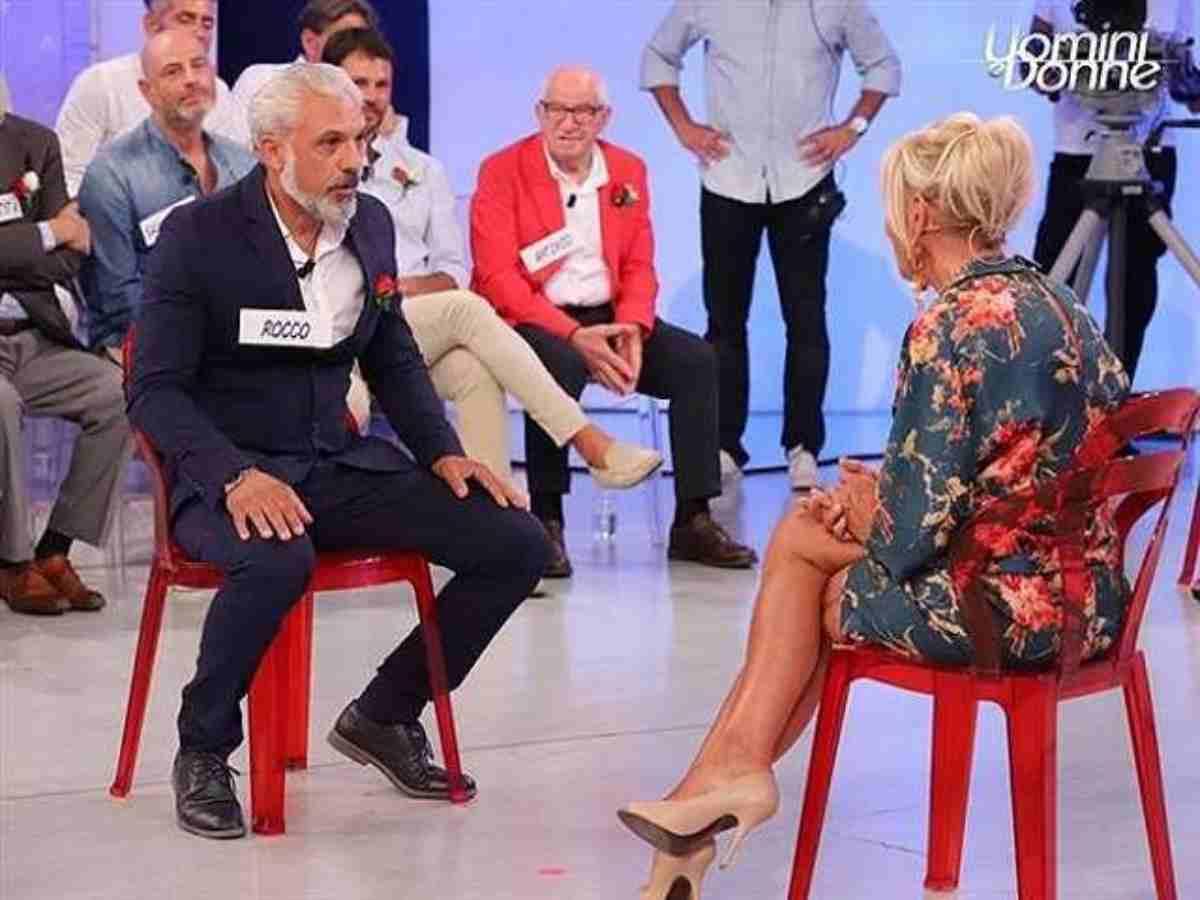 Uomini e Donne la decisione, Gemma Galgani rifiuta Rocco Fredella