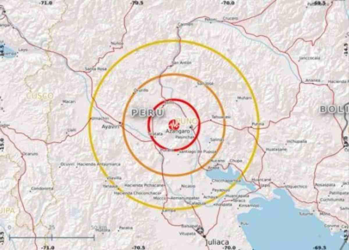 Spaventoso terremoto di magnitudo 7