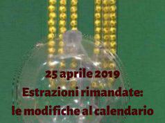 SuperEnalotto Lotto 10 e Lotto 25 aprile