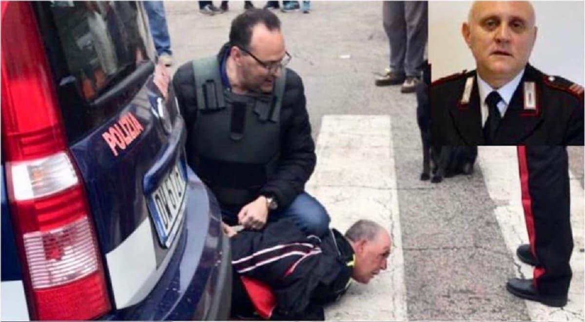 cagnano varano carabiniere ucciso