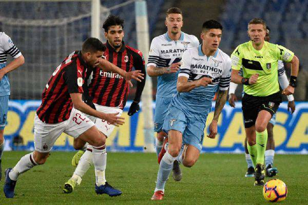 Milan Lazio Coppa Italia streaming