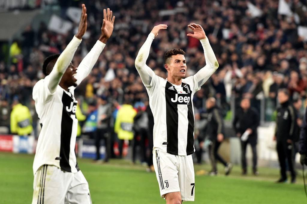 in campo contro l'Ajax in Champions