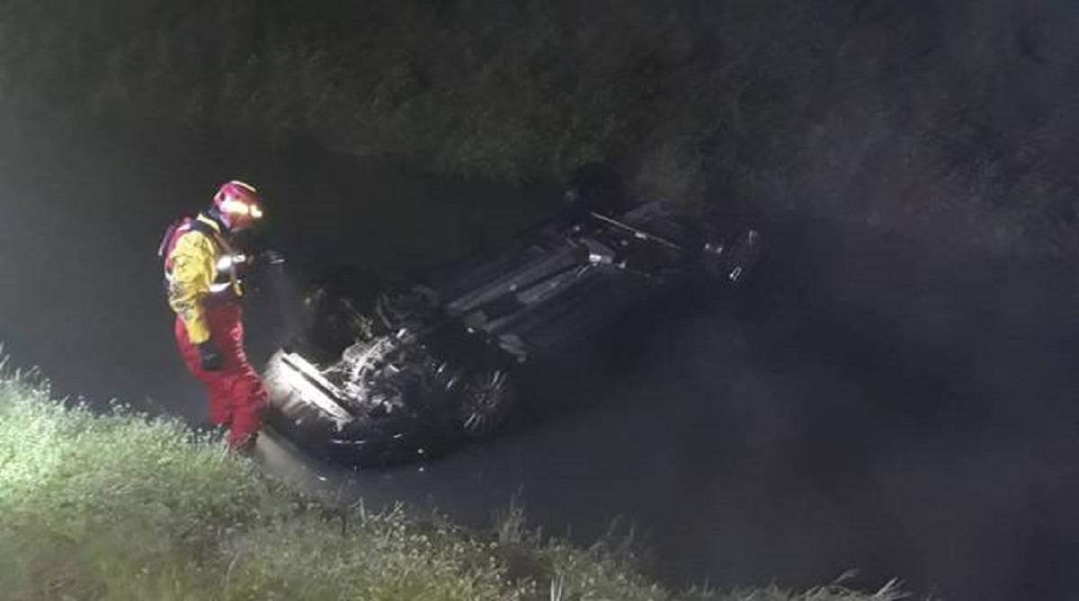 correggio auto sbanda morto incidente