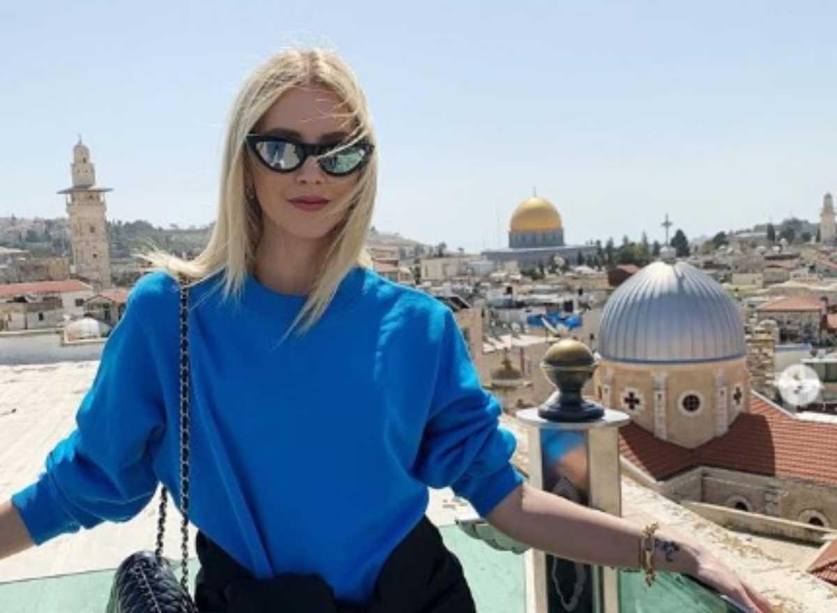 chiara ferragni israele