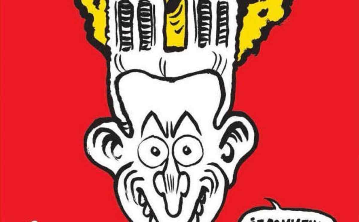 Notre Dame, la copertina satirica di Charlie Hebdo