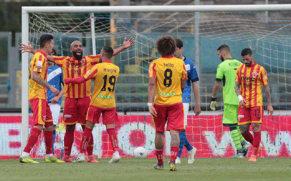 benevento cittadella streaming