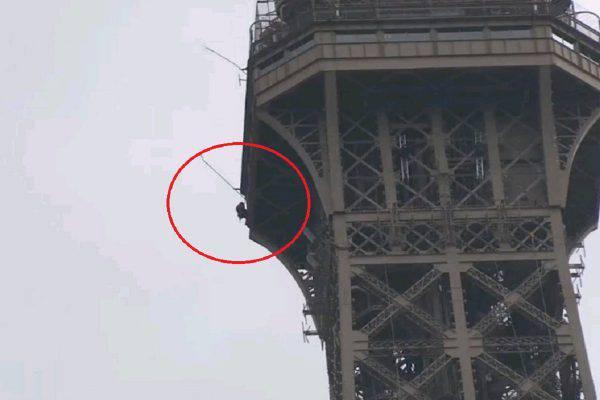 scalatore torre eiffel