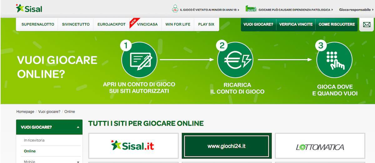 Giocate online
