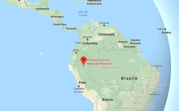 terremoto perù dove mappa