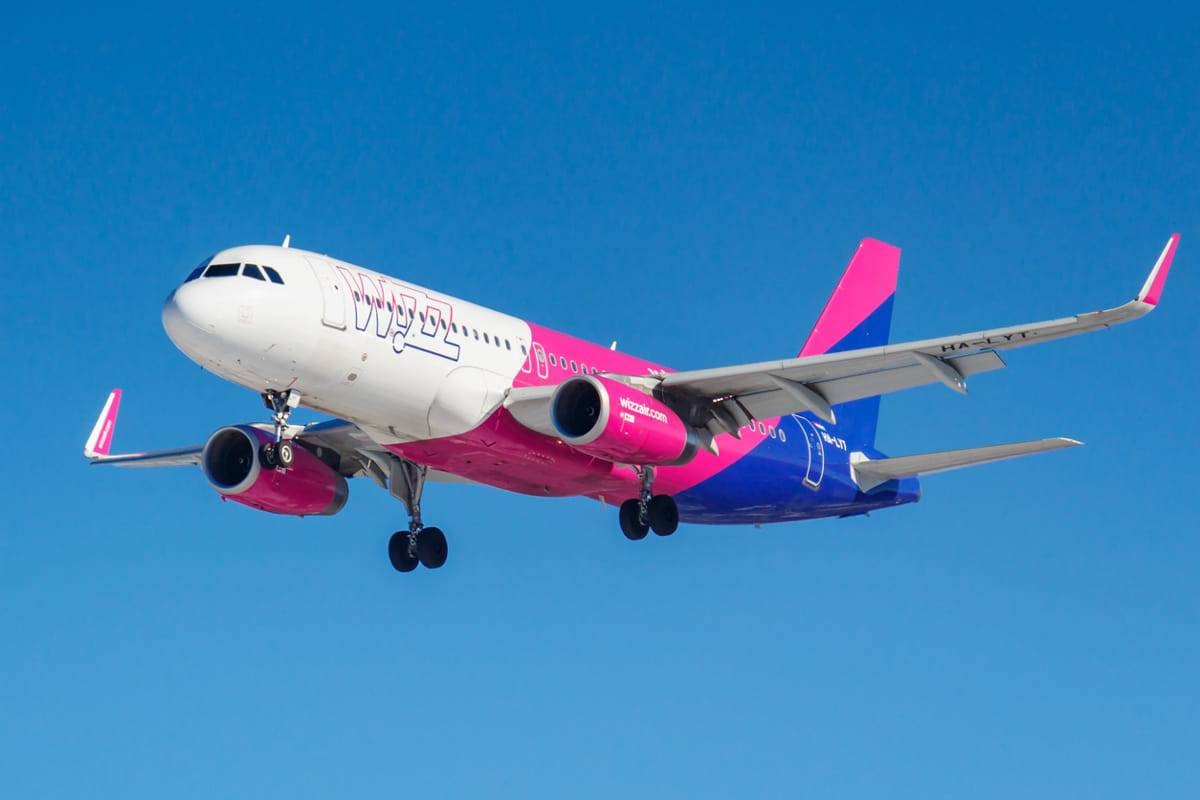 voli low cost saldi wizz air