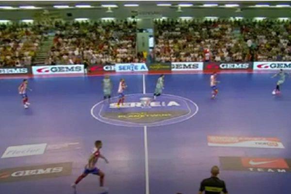 Acqua&Sapone Italservice finale calcio a 5
