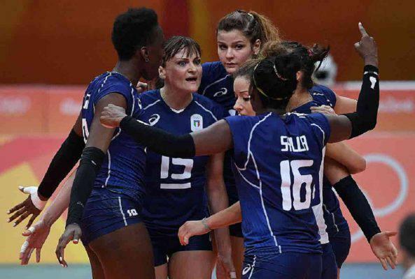 italia sud corea volley femminile