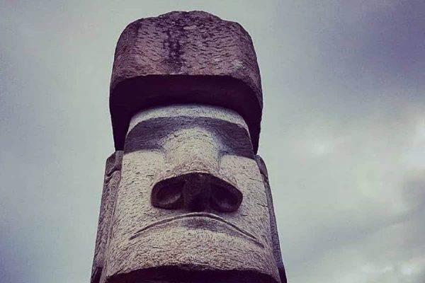 vitorchiano statua moai