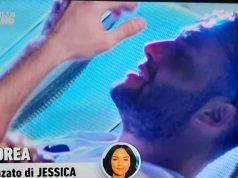 Temptation Island, Andrea in lacrime per Jessica
